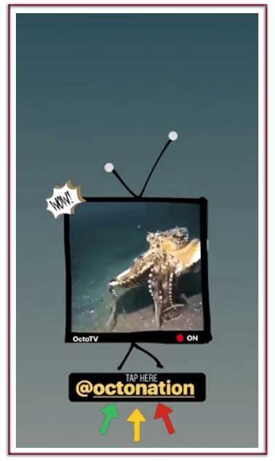 بکارگیری خلاق کادر برای فیلم به صورت تلویزیون برای تعامل بیشتر با کاربر